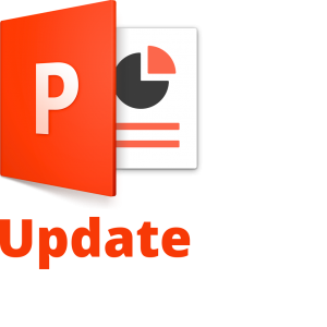 PowerPoint Update Icon