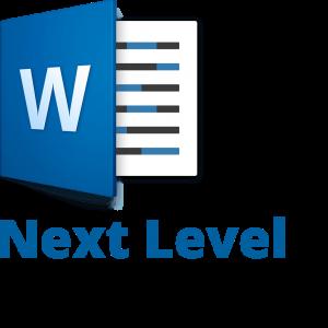 Word Next Icon