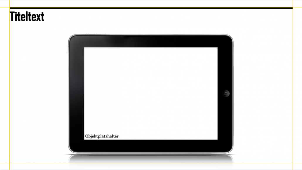 iPad-Chart Heimat