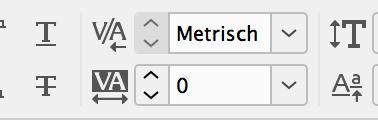 Metrisches Kerning