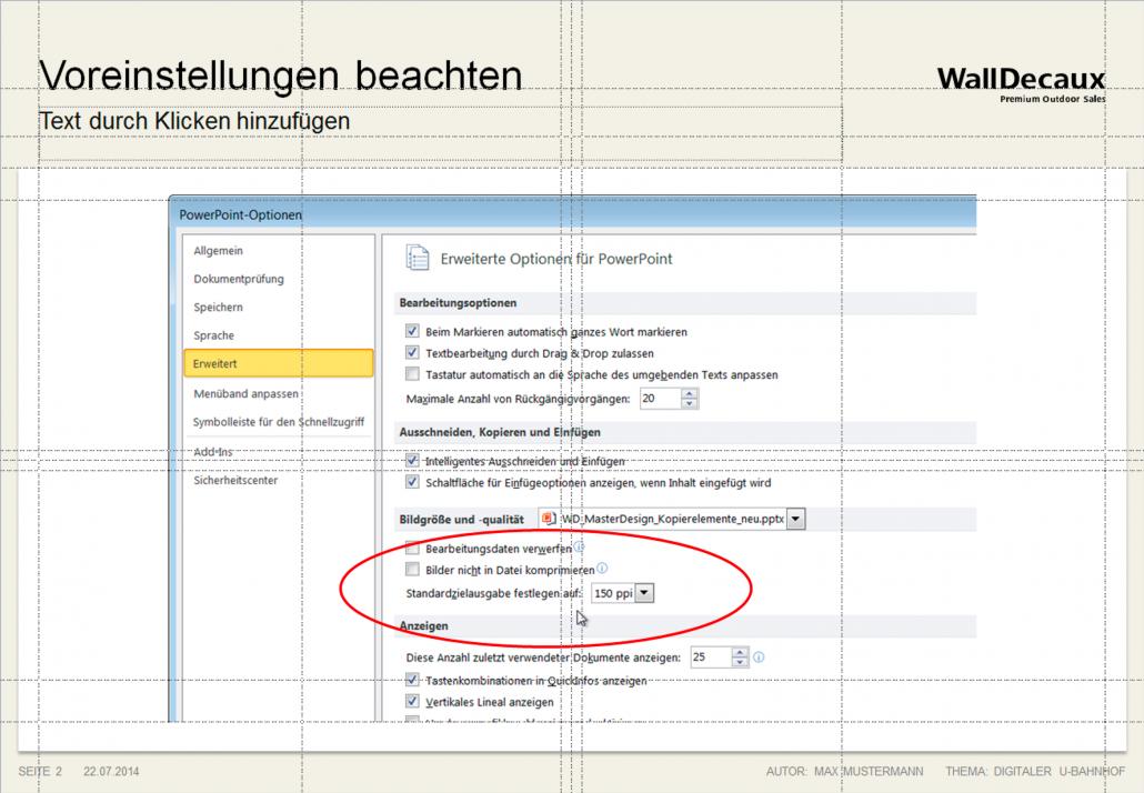 Anleitung WallDecaux